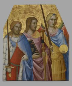 Saints Julian, James, andMichael