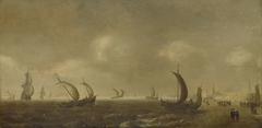 Seascape on the Beach of Scheveningen