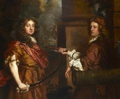 Sir Frescheville Holles, 1642-72, and Sir Robert Holmes, c. 1622-92