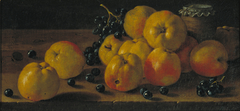 Still Life with Apples, Grapes and a Pot of Jam