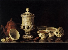 Still-Life with Chinese Teabowls