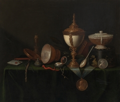 Still Life with Ostrich Egg Cup and the Whitfield Heirlooms