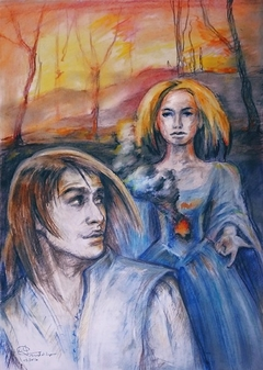 Storm Messenger, illustration