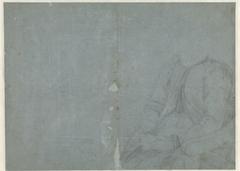 Studie van een zittende vrouw, zonder hoofd