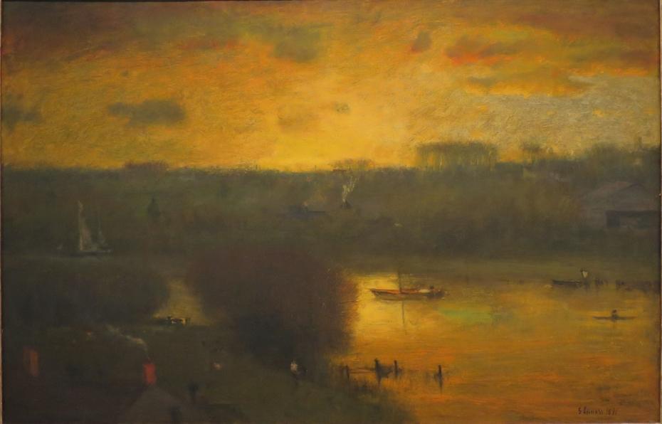 Sunset on the Passaic