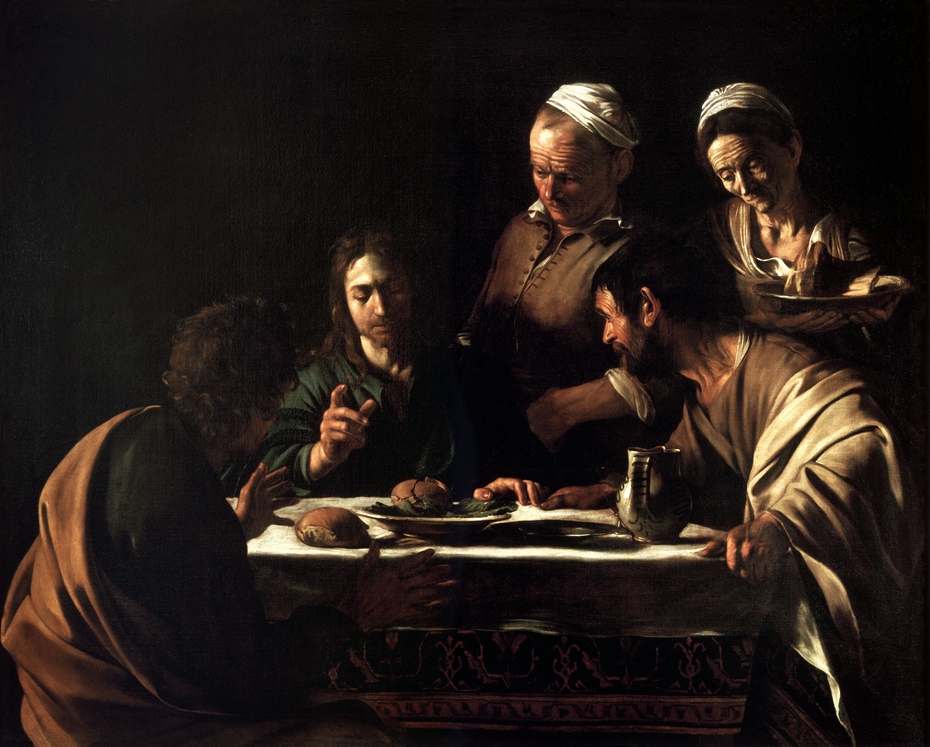 Supper at Emmaus (Milan)
