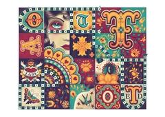 Tattooed Lady Tiles