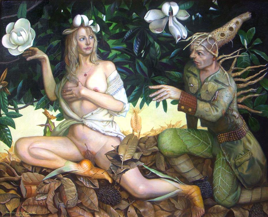 """Temptation Under Magnolia Tree"""