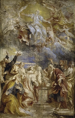 The Ascension of Mary