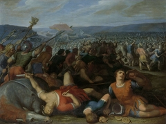 The Batavians Defeating the Romans on the Rhine