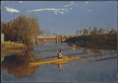 The Champion Single Sculls (Max Schmitt in a Single Scull)