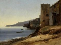 The coast of the Bay of Naples near Posilippo