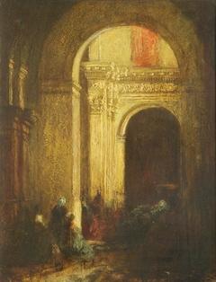 The Door of a Mosque