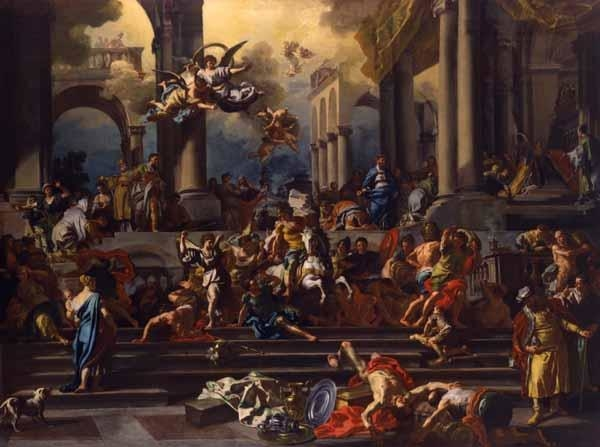 The Expulsion of Heliodorus from the Temple