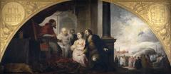 The Foundation of Santa Maria Maggiore in Rome. The Patrician recounts his Dream to the Pope
