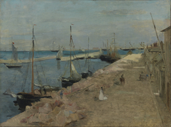 The Harbor atCherbourg
