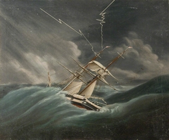 The Honorable East India Company's brig in a breeze