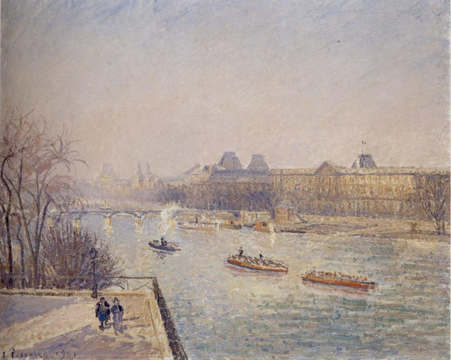 The Louvre, Morning, Winter Sunlight, Hoar-Frost (First Series)