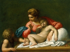 The Madonna and Sleeping Child with the Infant St John the Baptist ('Il Silenzio')