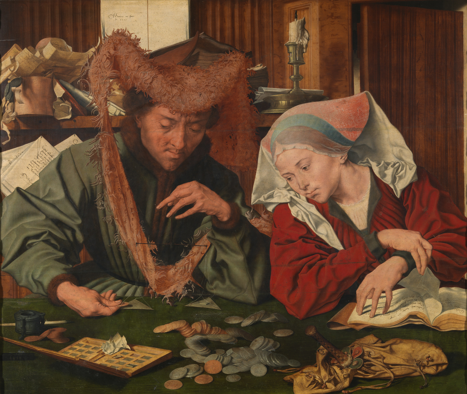 The Moneychanger and His Wife