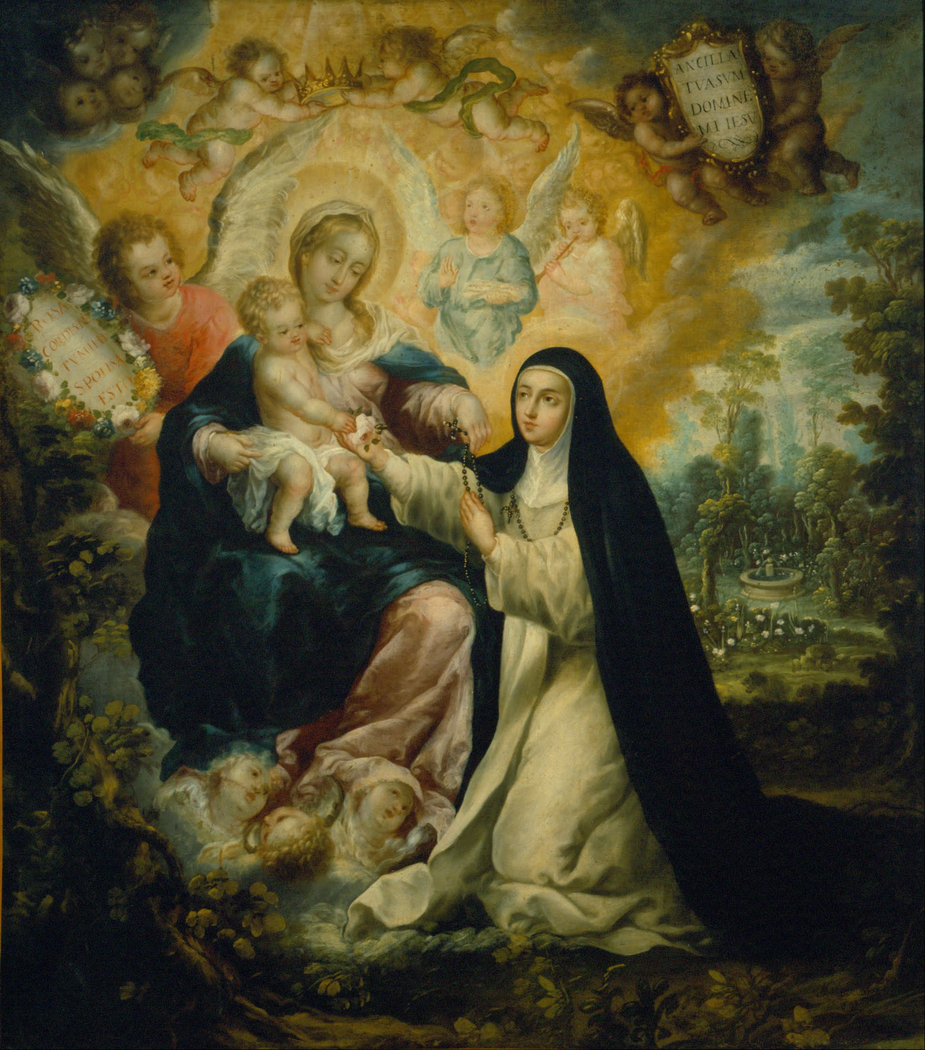 The Mystic Betrothal of Saint Rose of Lima