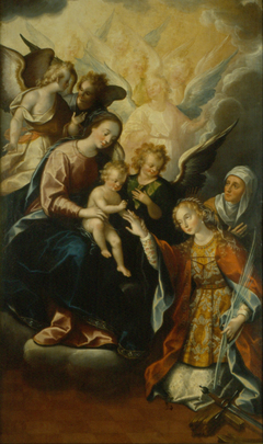 The Mystical Betrothal of Saint Catherine of Alexandria