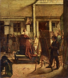 The Painting Class in the Studio