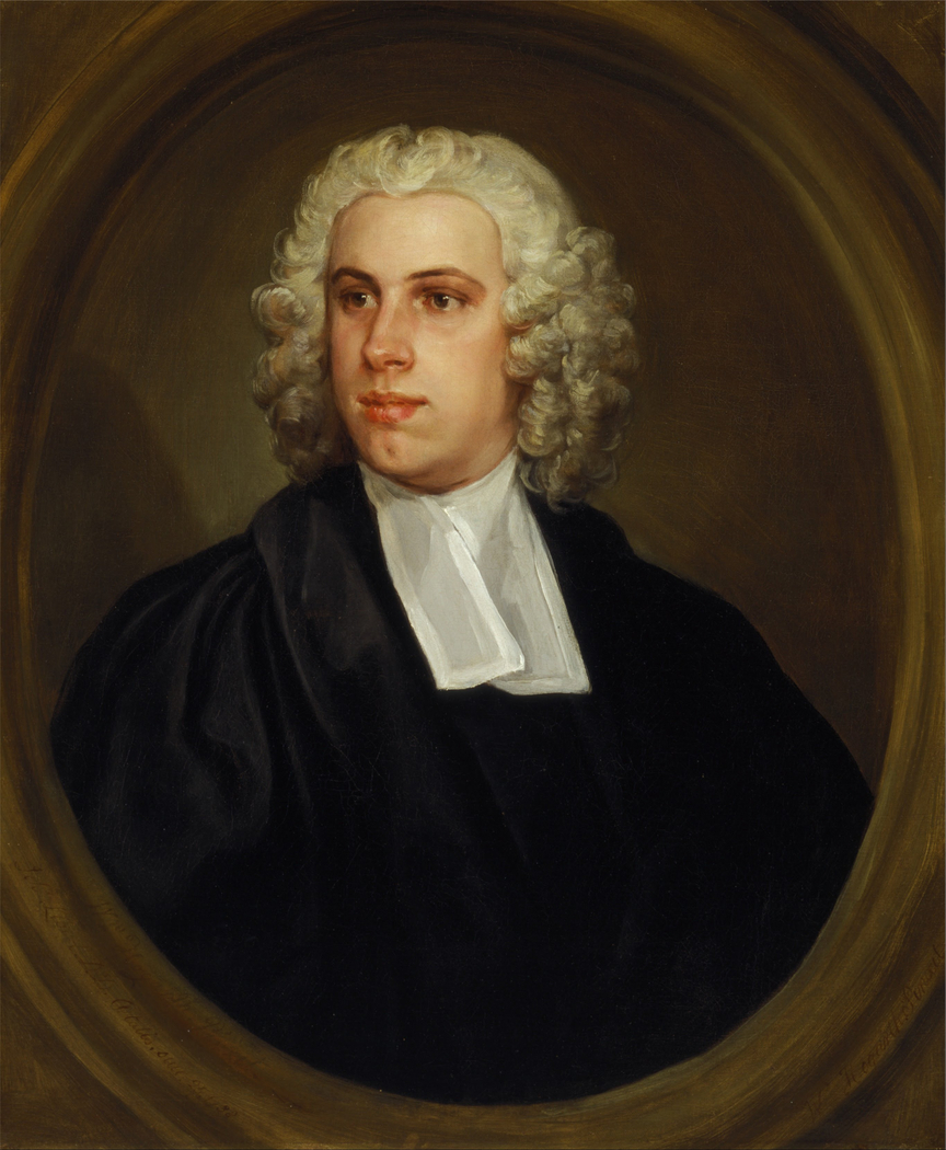 The Reverend Dr. John Lloyd, Curate of St. Mildred's Church, Bread Street