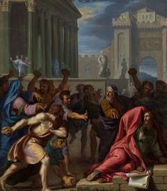 The Stoning of Saint Paul