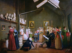 The Studio of Abel de Pujol