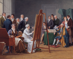 The time in the Atelier of Madame Vincent