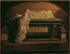 The tomb of Emperor Leopold II by Franz Anton Zauner in the Augustinerkirche
