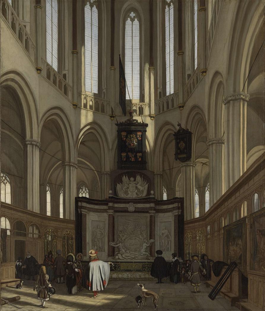 The Tomb of Michiel de Ruyter in the Nieuwe Kerk, Amsterdam