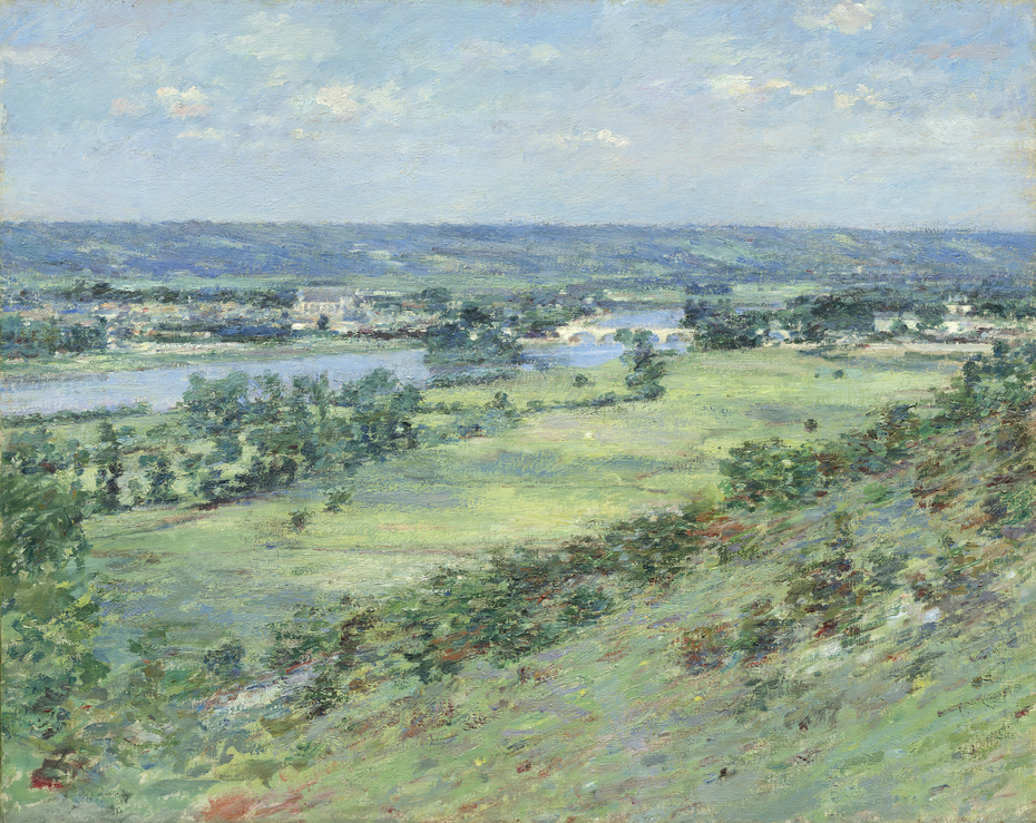The Valley of the Seine, from the Hills of Giverny