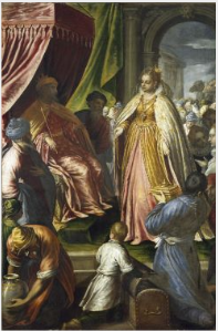 The Visit of the Queen of Sheba to Solomon