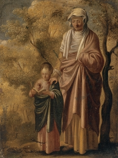 The Young Virgin Mary with Saint Anne