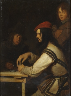 Three Men in a Tavern