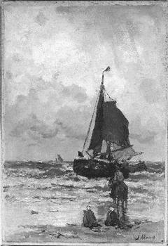 Thuiskomst van de vissersschuit