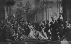 Trauung des Kurfürsten Johann Wilhelm von der Pfalz