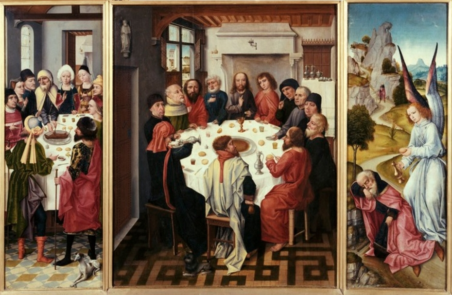 Triptych of the Last Supper