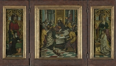 Triptych with the Last Supper and Donors