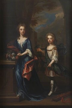 Two Children, possibly of William Cavendish, 2nd Duke of Devonshire (1672-1729)