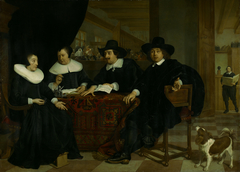 Two regents and two regentesses of the Spinhuis