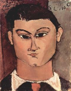 Porträt de Moise Kiesling