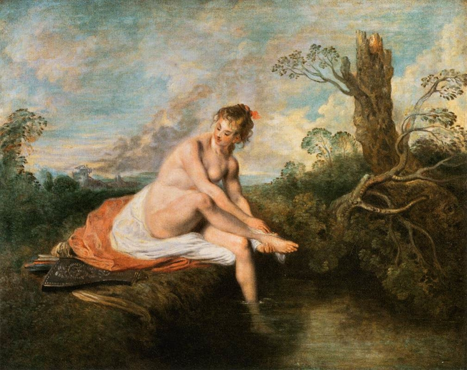 Diana at her Bath