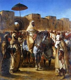 Moulay Abd-er-Rahman, Sultan du Maroc