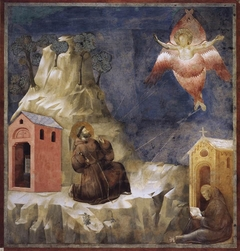 Legend of St Francis: 19. Stigmatization of St Francis