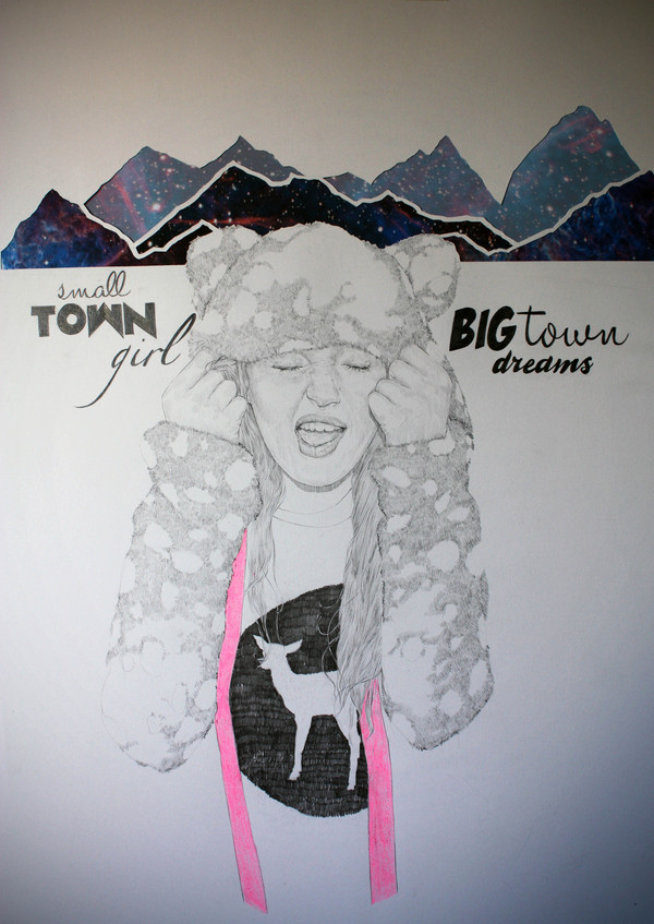 Small town girl, big town dreams