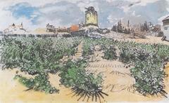 The mill of Alphonse Daudet in Fontevieille