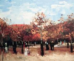 Walker in Bois de Boulogne